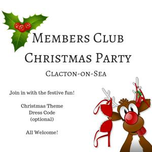 Members Club Christmas Party